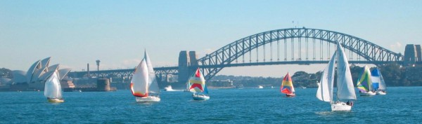 Sydney Harbor July 2003